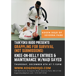 Taikyoku Budo Grappling for Survival: Knee-On-Belly w/Naqi Sayed