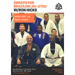 BJJ Sweeps w/Ron Hicks (Centreville BJJ) 12.10.18
